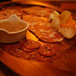 Charcuterie boards such as this are making a comeback in many Toronto restaurants. (Photo by stu_spivack on Flickr, January 12, 2010)