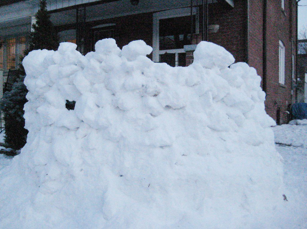 Snow Fort by Hailey Connor