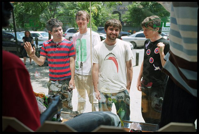 Animal Collective. Photo by Alex Wright