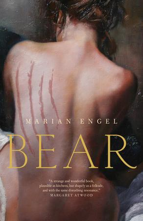 New cover of Bear by Marian Engel
