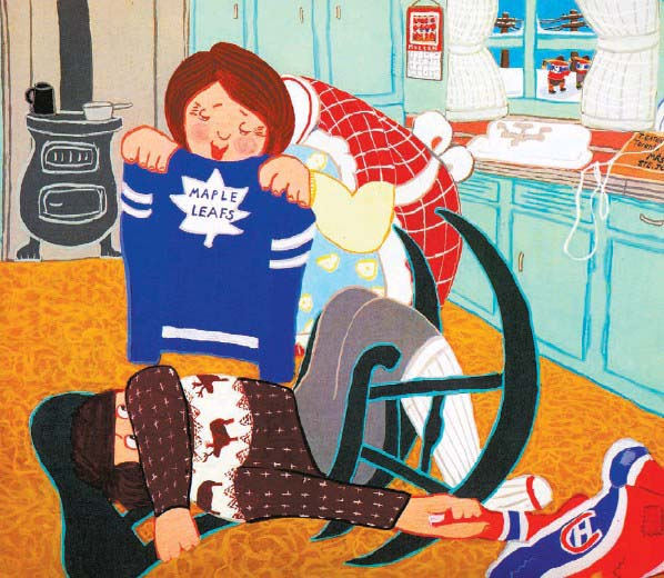 The Hockey Sweater, published in 1985 by Roch Carrier. Image from: http://mtltimes.ca